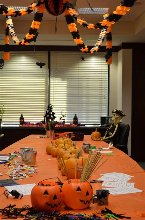 halloween meeting themes office workspace exciting and fresh for profesional