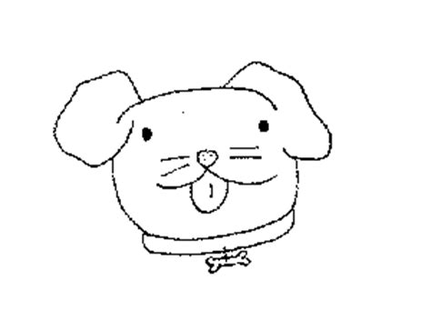 coloring pages of dog head yellow lab head coloring pages