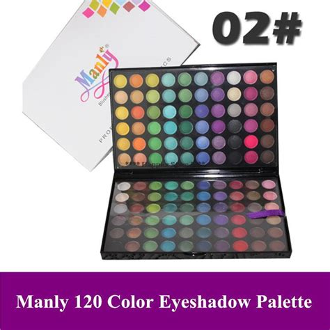 manly colors free shipping professional cosmetic eye shadow palette