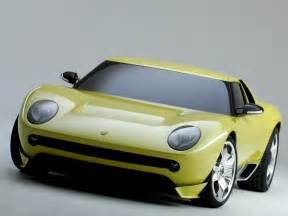Miura Lamborghini Lamborghini Miura Concept Cool Car Wallpapers