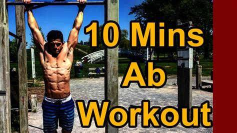 fastest workout to get ripped abs at home in 10 minutes