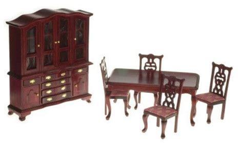 victorian dining room set mahogany  rose dining