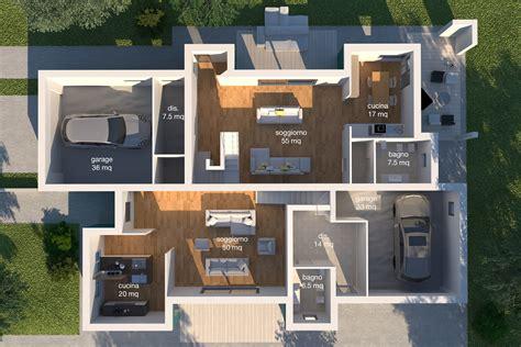 progetto casa moderna progetti moderne