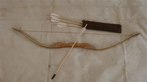 D The Bow And Arrow Set 1 children s bamboo and wood bow and arrow set with 4