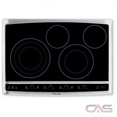 Cooktop Electrolux Electrolux Ew30ec55gs Electric Cooktop 30 In With Drop