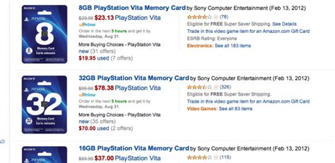 memory card price here s the new pricing for playstation vita memory cards