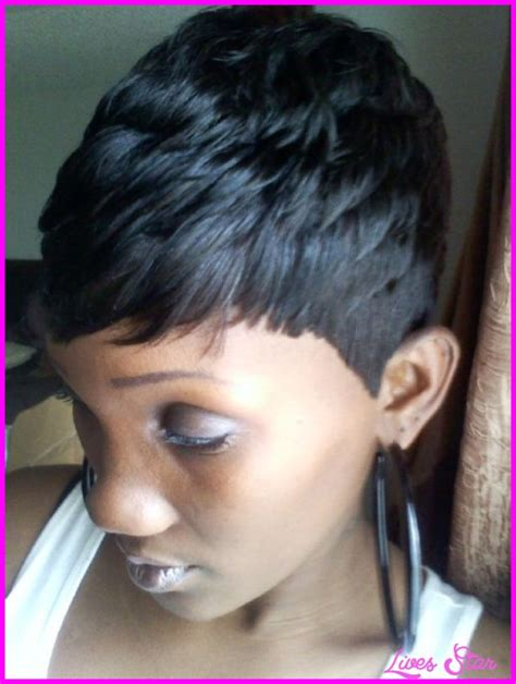 quick easy hairstyles black hair short hairstyles for black women with weave livesstar com