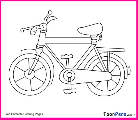 kids bicycle safety coloring pages