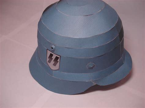 Papercraft Helmet - 1 1 stahlhelm papercraft by rocketmantan on deviantart