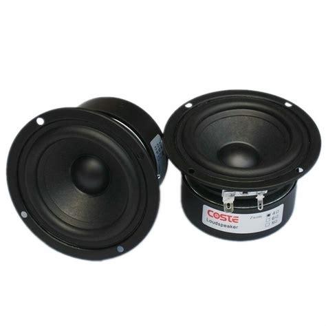 pcs hifi speaker full range bass subwoofer tweeter