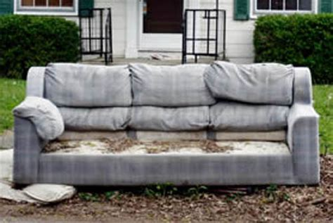 dispose of old couch how to avoid an injury when disposing of old furniture