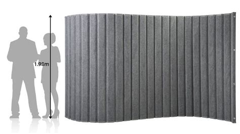 Noise Reducing Room Divider Sliding Soundproof Wall Divider Panels Movable Walls