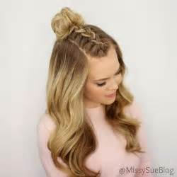 up hairdos back and front 1000 ideas about easy hairstyles on pinterest