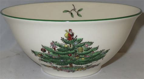 spode christmas tree green trim pattern spode christmas tree green trim nut bowl ebay