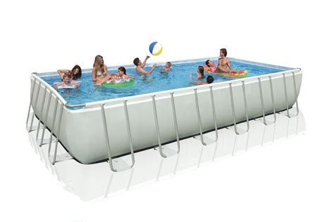 12 x 52 pool intex ultra frame swimming pool set 24 x 12 x 52 quot para