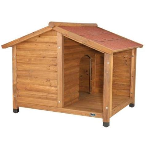dog houses home depot trixie rustic large dog house 39512 the home depot