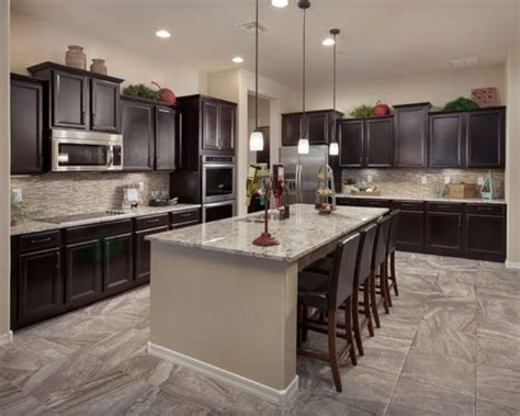 Dark Cabinet Kitchen Designs dark cabinet kitchens home design ideas pictures remodel