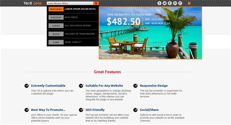 top bar wordpress plugin xpromoter top bar switcher responsive wordpress plugin