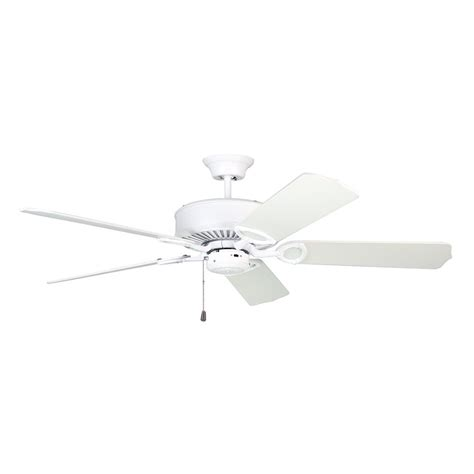 Energy Efficient Ceiling Fan Light Bulbs by Shop Kendal Lighting Excellence 52 In White Downrod Mount