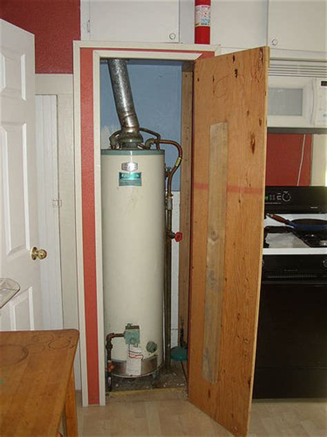 Water Heater In Closet by The Water Heater Closet Flickr Photo