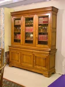 biblioth 232 que louis philippe en merisier de