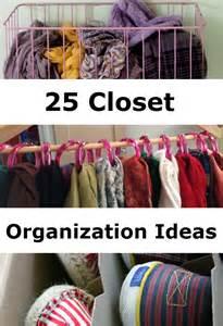 Closet Organizer Tips - 25 closet organization ideas diy 4 home ideas