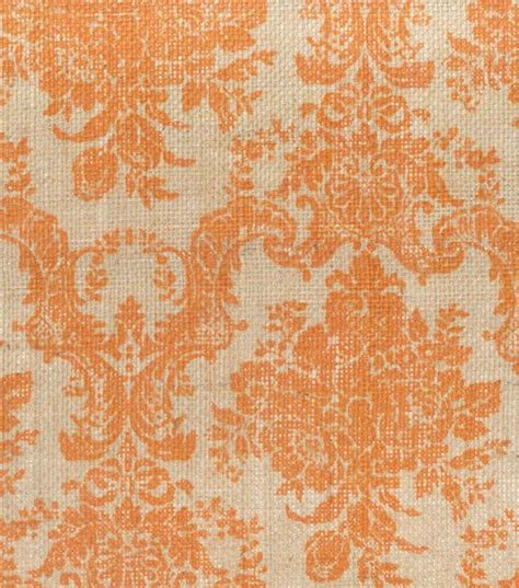 printed burlap upholstery fabric printed burlap ornate damask hi res fabric