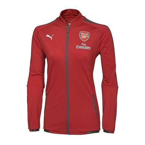 arsenal jacket arsenal 17 18 ladies home stadium jacket official online