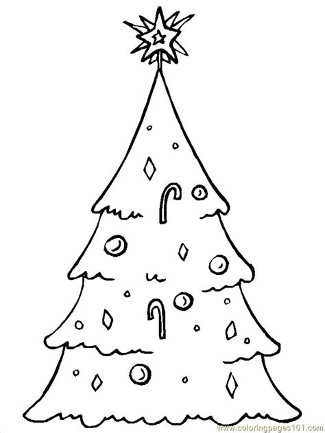 christmas tree coloring page online coloring pages christmas trees 7 cartoons gt christmas