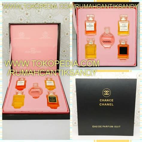 Miniature Set Sui Original Singapore Isi 5 Pcs 4ml jual parfum chanel parfum pria wanita minyak wangi