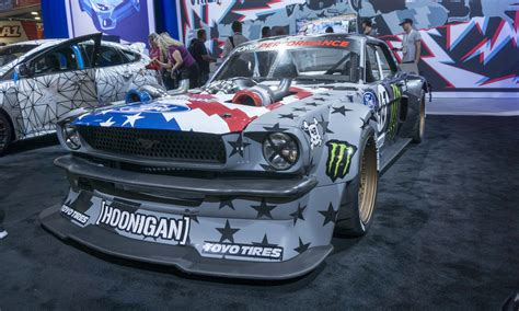 hoonigan mustang suspension 2017 sema show wild and crazy 187 autonxt
