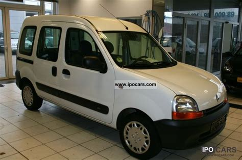 renault kangoo 2002 renault kangoo 1 5 dci authentique photos and comments