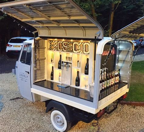 mobile drinks bar 25 best ideas about mobile bar on food on