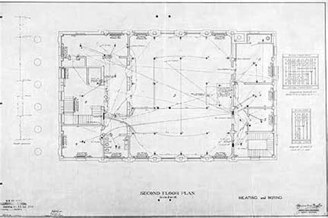 post office floor plan alachua county library district heritage collection