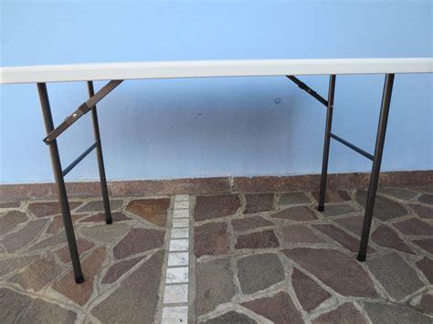 tavoli pieghevoli per mercatini tavolo pieghevole 122 x 60 x 72 per catering sagre