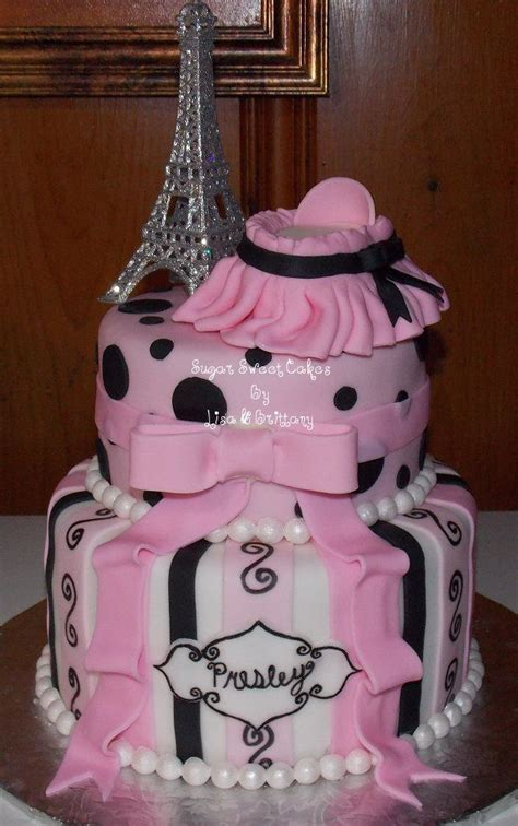 Eiffel Tower Baby Shower Cakes by 17 Best Images About Eiffel Tower Cake Ideas For Angelique S Golden Birthday On