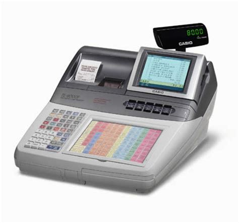 Mesin Kasir Electronic Register Casio Qt 6100 te 7000s te 8000f epos registers casio