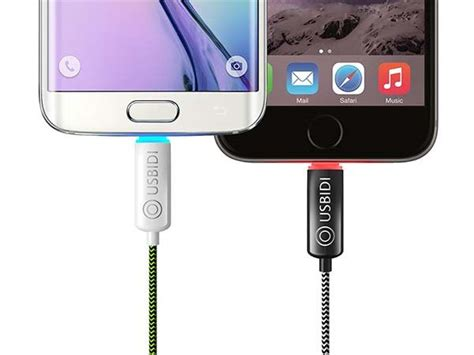 speed charger android usbidi charging cable for ios or android boasts fast charging led indicator and more gadgetsin