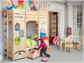 Fun Bunk Beds Bloombety Cool Kids Play Bunk Beds Decorating Cool Kids