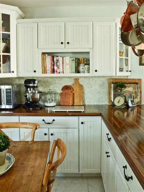 diy kitchen cabinets hgtv pictures do it yourself ideas do it yourself butcher block kitchen countertop hgtv