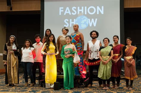 Fashion Around The Web This Week 4 by Ucla Students Model For International Education Week