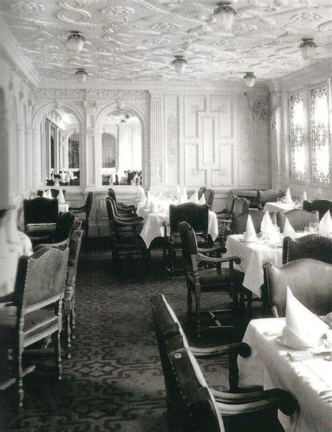 dining on the titanic dining rooms photos and rms titanic on pinterest