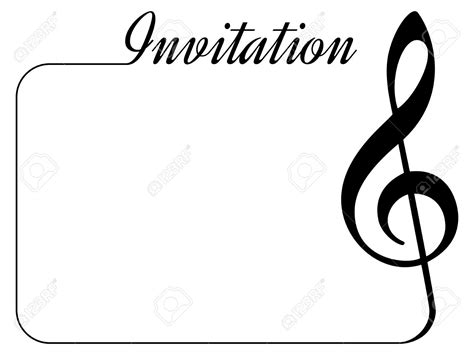concert invitation card template concert invitation templates cloudinvitation