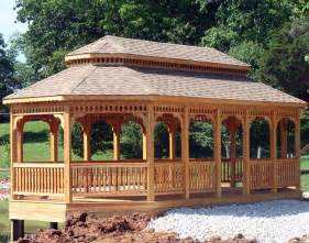Gazebo Styles Plans by Treated Pine Double Roof 8 Sided Oval Gazebos Gazebos By