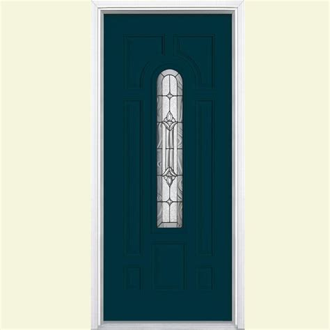 Fiberglass Exterior Doors Home Depot Masonite 36 In X 80 In Avantguard Flagstaff Finished