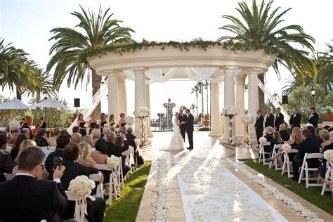 wedding venues in orange county ca st regis monarch wedding ceremony reception