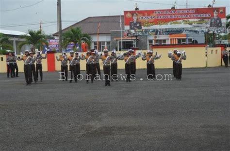 Seragam Patroli Keamanan Sekolah Puluhan Siswa Ikuti Latihan Pocil Bloranews