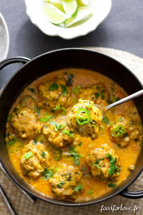 l馮umes cuisin駸 concours curry de l 233 gumes aux boulettes de poisson