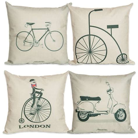 decorative pillows for couch on sale on sale 45 45cm bike cushion no filling cotton linen