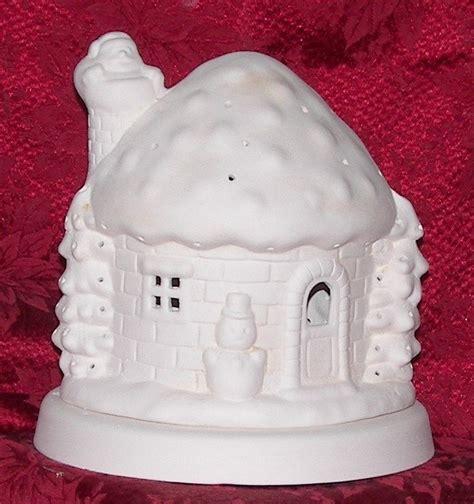 how to paint a ceramic l base ceramicchrome ceramic bisque house with base ready